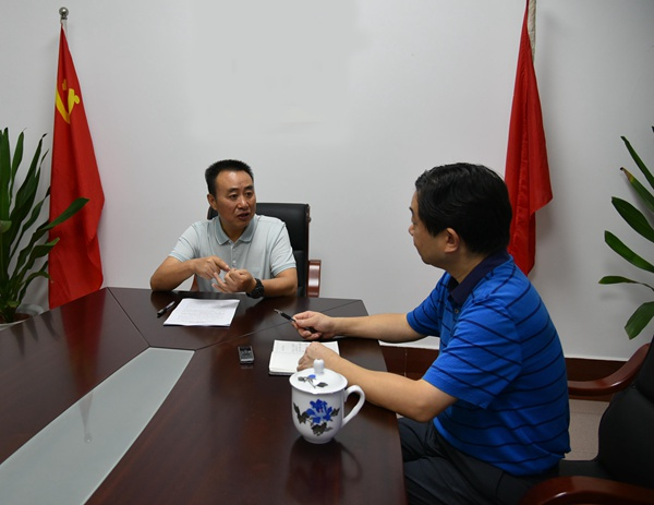 永州市委常委、市纪委书记杨永接受三湘风纪网专访
